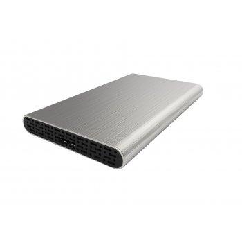 "CoolBox SlimChase A-2513 2.5"" Carcasa de disco duro SSD Negro, Plata"