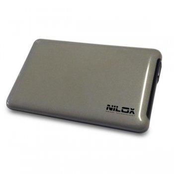 """Nilox DH0002SL caja para disco duro externo 2.5"""" Caja de disco duro (HDD) Gris"""