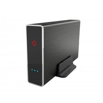 "CoolBox SlimChase A-3503 3.5"" Caja de disco duro (HDD) Negro"