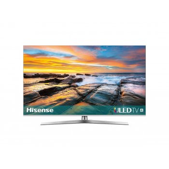 "Hisense H55U7B TV 138,7 cm (54.6"") 4K Ultra HD Smart TV Wifi Negro, Plata"