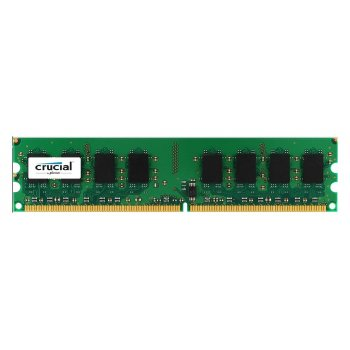 Crucial 2GB DDR2 módulo de memoria 800 MHz