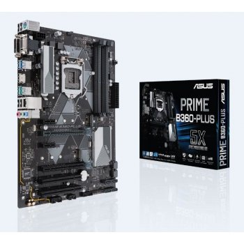 ASUS PRIME B360-PLUS placa base LGA 1151 (Zócalo H4) ATX Intel® B360