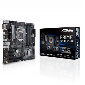 ASUS PRIME H370M-PLUS placa base LGA 1151 (Zócalo H4) Micro ATX Intel® H370