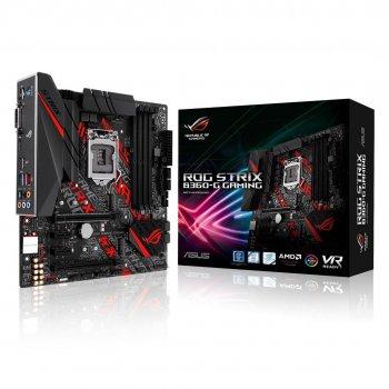 ASUS ROG STRIX B360-G GAMING placa base LGA 1151 (Zócalo H4) Micro ATX Intel® B360
