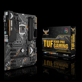 ASUS TUF B360-PRO GAMING placa base LGA 1151 (Zócalo H4) ATX Intel® B360