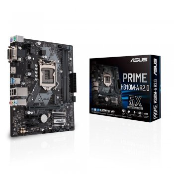 ASUS PRIME H310M-A R2.0 placa base LGA 1151 (Zócalo H4) Micro ATX Intel® H310