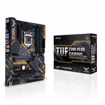 ASUS TUF Z390-PLUS GAMING (WI-FI) placa base LGA 1151 (Zócalo H4) ATX Intel Z390