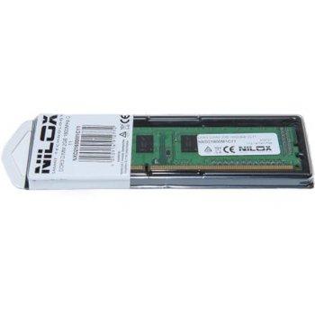 Nilox 2GB PC3-12800 módulo de memoria DDR3 1600 MHz