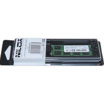 Nilox 4GB PC3-10600 módulo de memoria DDR3 1333 MHz