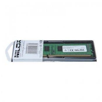 Nilox 4GB DDR3 DIMM módulo de memoria 1066 MHz