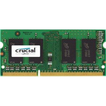 Crucial PC3-12800 4GB módulo de memoria DDR3 1600 MHz