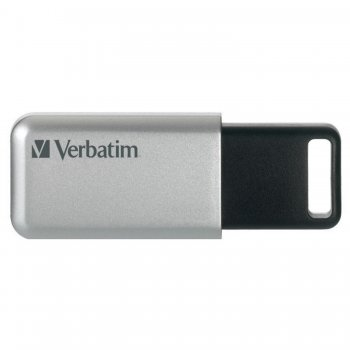 Verbatim Secure Pro unidad flash USB 32 GB USB tipo A 3.0 (3.1 Gen 1) Plata