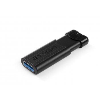 Verbatim PinStripe unidad flash USB 32 GB USB tipo A 3.0 (3.1 Gen 1) Negro