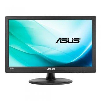 """ASUS VT168H monitor pantalla táctil 39,6 cm (15.6"""") 1366 x 768 Pixeles Negro Multi-touch"""