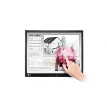 """LG 19MB15T-I monitor pantalla táctil 48,3 cm (19"""") 1280 x 1024 Pixeles Negro Multi-touch Mesa"""