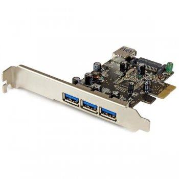 StarTech.com Tarjeta PCI Express con 4 Puertos USB 3.0