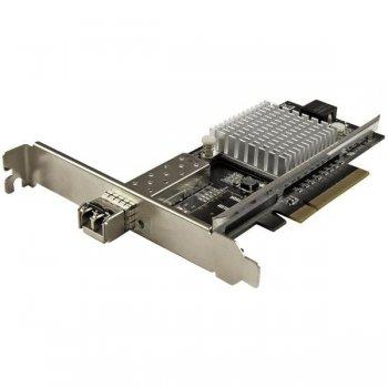 StarTech.com Tarjeta PCI Express de Red con 1 Puerto de 10Gb SFP+ - Fibra Óptica con Chip Intel
