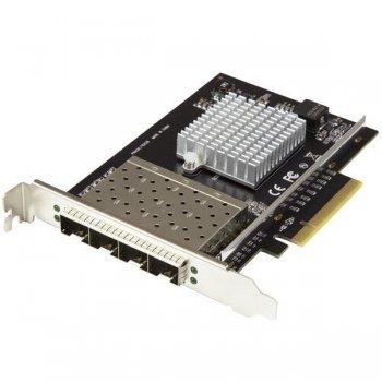 StarTech.com PEX10GSFP4I adaptador y tarjeta de red Fibra 20000 Mbit s Interno