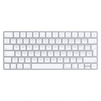 Apple Magic teclado Bluetooth QWERTY Español Blanco