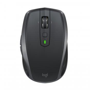 Logitech MX Anywhere 2S ratón RF inalámbrica + Bluetooth 4000 DPI mano derecha