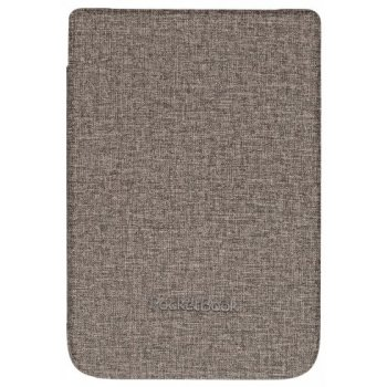 """Pocketbook WPUC-627-S-GY funda para libro electrónico Folio Marrón, Gris 15,2 cm (6"""")"""