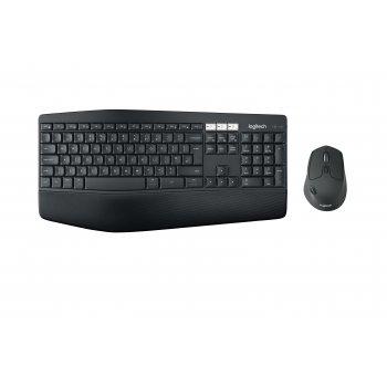 Logitech MK850 teclado RF Wireless + Bluetooth QWERTY Español Negro