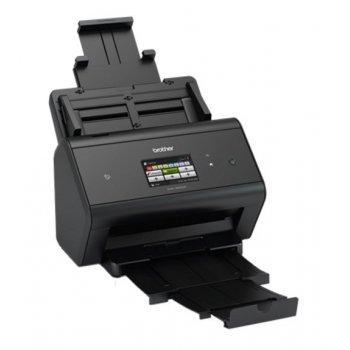 Brother ADS-3600W escaner 600 x 600 DPI Escáner con alimentador automático de documentos (ADF) Negro A4