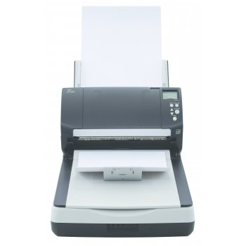 Fujitsu fi-7260 600 x 600 DPI Escáner de superficie plana y alimentador automático de documentos (ADF) Negro, Blanco A4