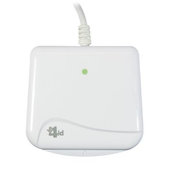 Bit4id miniLector EVO lector de tarjeta magnética USB Blanco