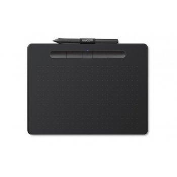 Wacom Intuos M Bluetooth tableta digitalizadora 2540 líneas por pulgada 216 x 135 mm USB Bluetooth Negro