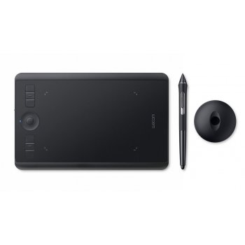 Wacom Intuos Pro (S) tableta digitalizadora 5080 líneas por pulgada 160 x 100 mm USB Bluetooth Negro