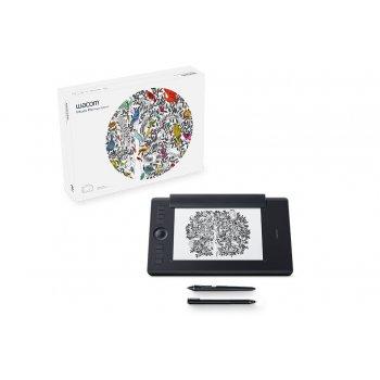Wacom Intuos Pro Paper Edition M South tableta digitalizadora 5080 líneas por pulgada 224 x 148 mm USB Bluetooth Negro
