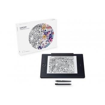 Wacom Intuos Pro Paper L South tableta digitalizadora 5080 líneas por pulgada 311 x 216 mm USB Bluetooth Negro