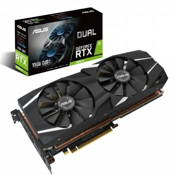 ASUS Dual -RTX2080TI-11G GeForce RTX 2080 Ti 11 GB GDDR6