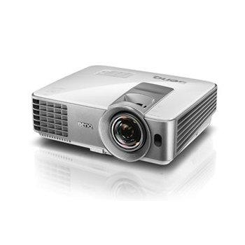 Benq MS630ST videoproyector 3200 lúmenes ANSI DLP SVGA (800x600) 3D Proyector para escritorio Plata, Blanco