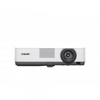 Sony VPL-DX221 videoproyector 2800 lúmenes ANSI 3LCD XGA (1024x768) Proyector para escritorio Negro, Blanco