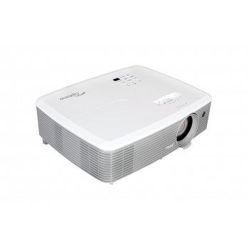 Optoma X400 videoproyector 4000 lúmenes ANSI DLP XGA (1024x768) 3D Proyector para escritorio Gris, Blanco