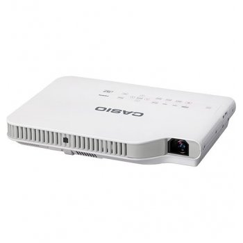 Casio XJ-A147 videoproyector 2500 lúmenes ANSI DLP XGA (1024x768) Proyector para escritorio Blanco