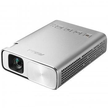ASUS ZenBeam E1 videoproyector 150 lúmenes ANSI DLP WVGA (854x480) Proyector portátil Plata