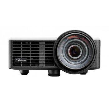 Optoma ML1050ST videoproyector 1000 lúmenes ANSI DLP WXGA (1280x720) 3D Proyector portátil Negro