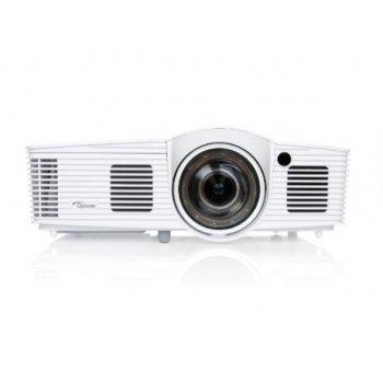Optoma EH200ST videoproyector 3000 lúmenes ANSI DLP 1080p (1920x1080) 3D Proyector para escritorio Blanco