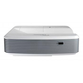 Optoma EH320UST videoproyector 4000 lúmenes ANSI DLP 1080p (1920x1080) 3D Proyector para escritorio Gris