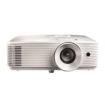 Optoma EH334 videoproyector 3600 lúmenes ANSI DLP 1080p (1920x1080) 3D Proyector para escritorio Blanco