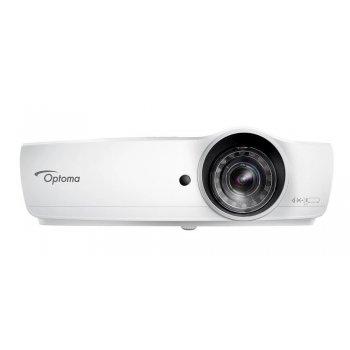 Optoma EH460ST videoproyector 4200 lúmenes ANSI DLP 1080p (1920x1080) 3D Proyector para escritorio Blanco