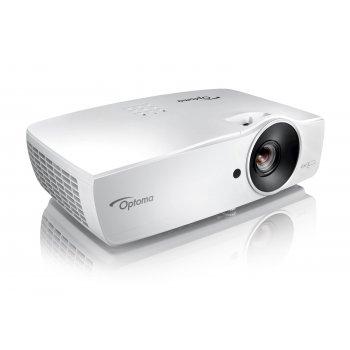 Optoma EH461 videoproyector 5000 lúmenes ANSI DLP 1080p (1920x1080) 3D Proyector para escritorio Blanco