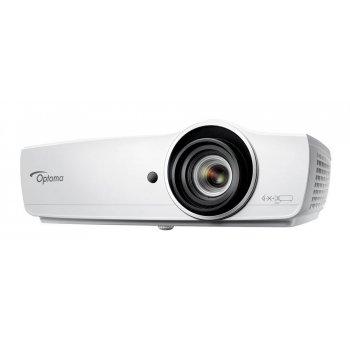 Optoma EH470 videoproyector 5000 lúmenes ANSI DLP 1080p (1920x1080) 3D Proyector para escritorio Blanco