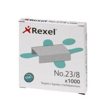 Rexel Grapas nº 23 8 - Caja 1000 u.