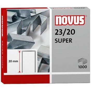 Novus 23 20 SUPER Paquete de grapas 1000 grapas