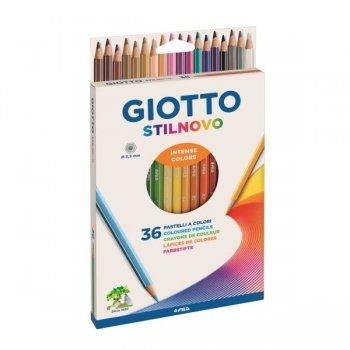 Giotto Stilnovo laápiz de color 36 pieza(s) Multi