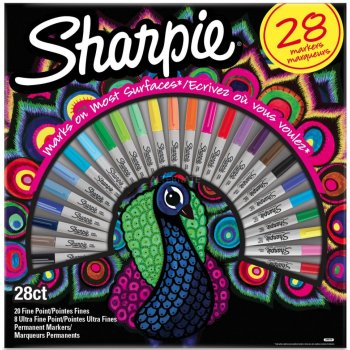 Sharpie 2058158 marcador 28 pieza(s) Multicolor Punta fina